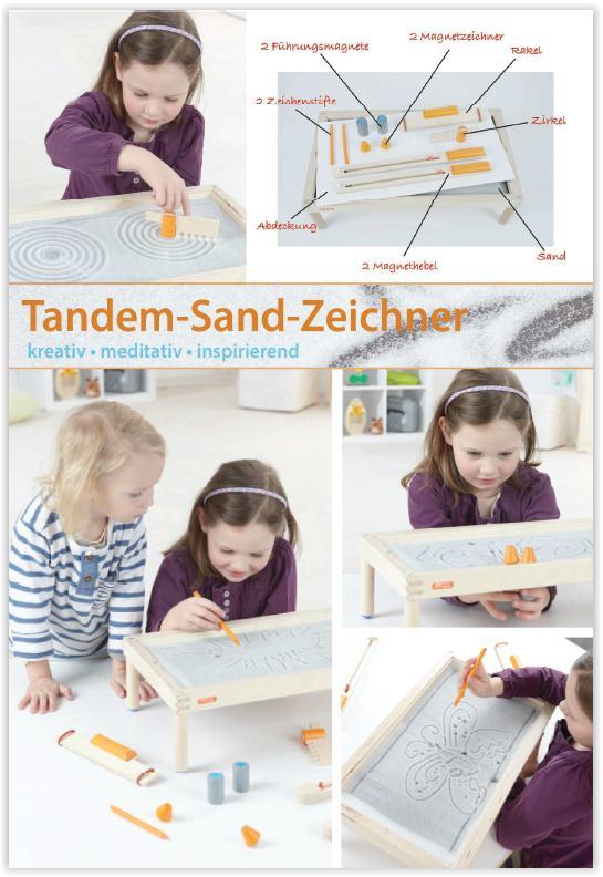 TANDEM-SAND-ZEICHNER
